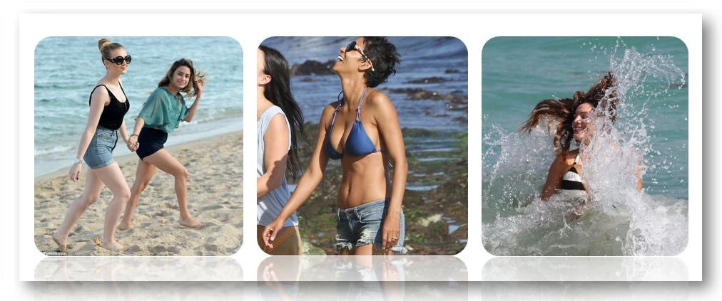 Holidaying in Beach Shorts