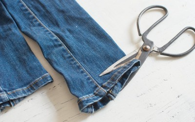 Want To Distress Your Jeans? Here's How.