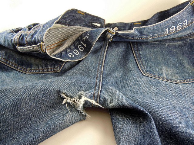 Common Ways that Jeans are Damaged