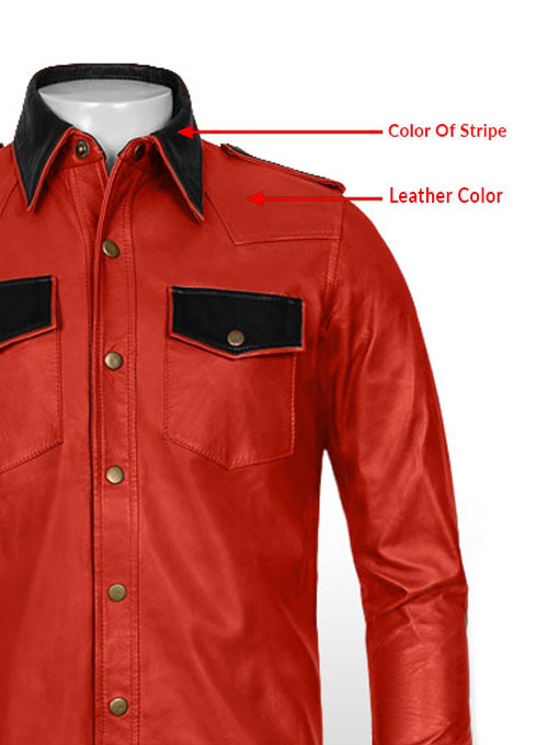 Native Leather Shirt