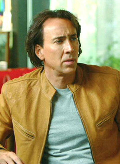 Next Nicolas Cage (Chris Johnson) Leather Jacket