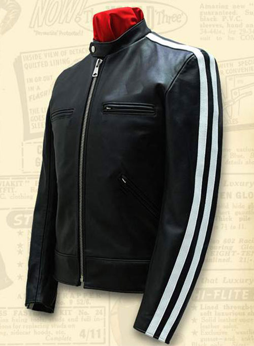 Leather Jacket Sportsman Stripe