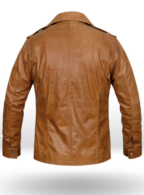 Vintage Regal Brown Leather Jacket # 621