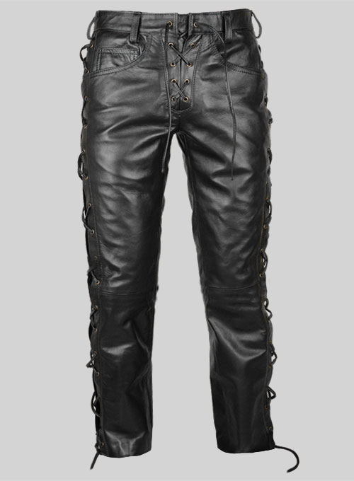 Laced Leather Pants - Style  # 515