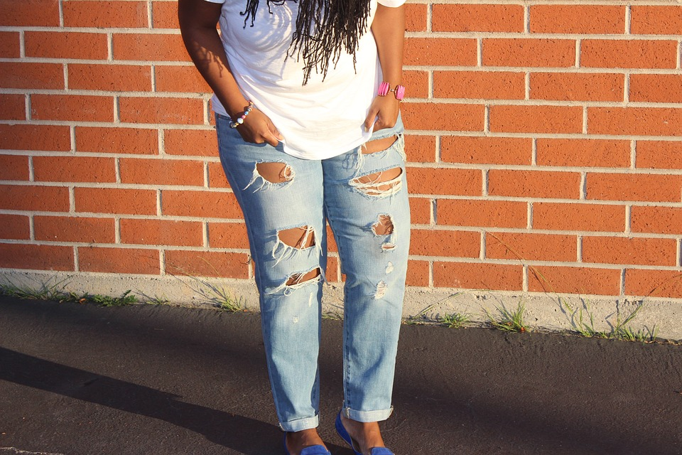 How to Care for Distressed Denim Jeans