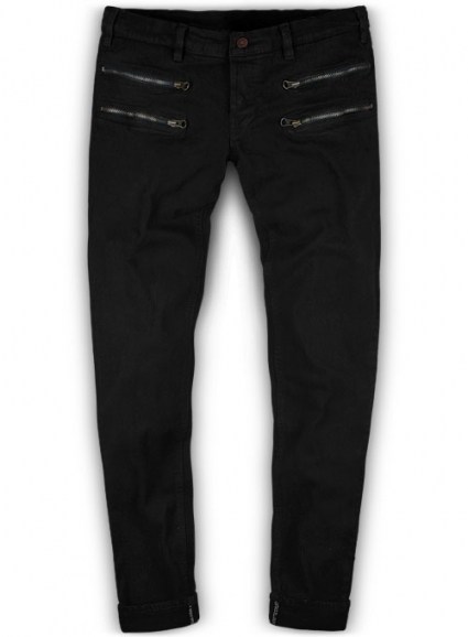 Double-Zipper Jeans: A Fresh Take on This Classic Garment