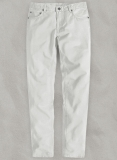 Light Gray Stretch Chino Jeans