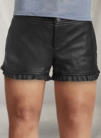 Leather Cargo Shorts Style # 353