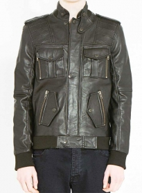 Leather Jacket # 618