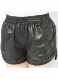 Leather Cargo Shorts Style # 370
