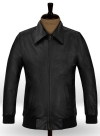 Classic Bomber Leather Jacket