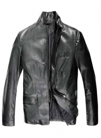 Leather Jacket # 611
