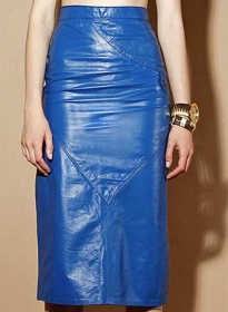 Matilda Leather Skirt - # 407