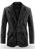 Harper Leather Blazer