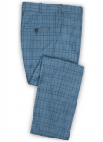 Napolean Corro Blue Wool Pants