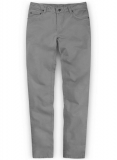 Gray Stretch Chino Jeans