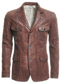 Leather Blazer - # 716