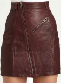 Stylish Leather Skirt - # 148