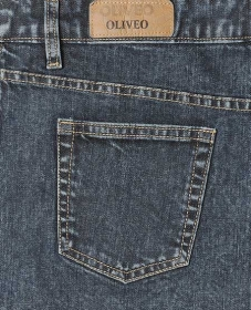 Furnace Stretch Denim Jeans - Blast Wash