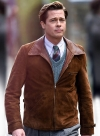 Brad Pitt Allied Leather Jacket