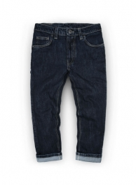 Kids Dark Blue Mid Weight Jeans