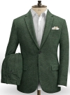 Bottle Green Herringbone Tweed Suit