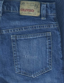Bobby Blue Heavy Stretch Jeans - Denim-X Scrapped