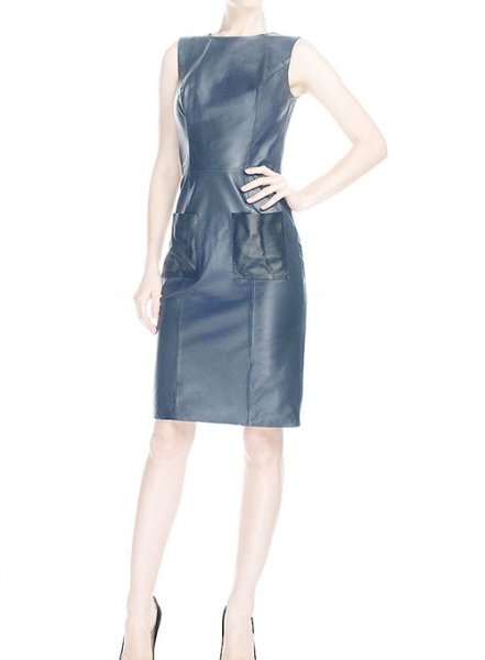 Sinatra Leather Dress - # 762