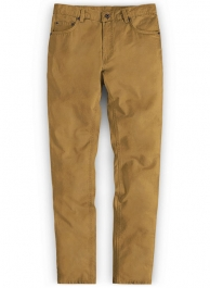 Summer Weight Dark Khaki Chino Jeans