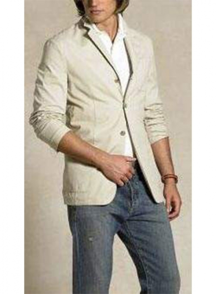 Cotton Chino Jacket - 60 Colors