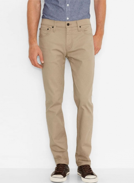 Cotton 5 Pocket Chinos - Jeans Style