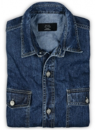 Custom Denim Shirt - 7oz