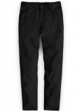 Black Stretch Chino Jeans
