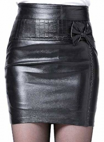 Buzz Leather Skirt - # 168