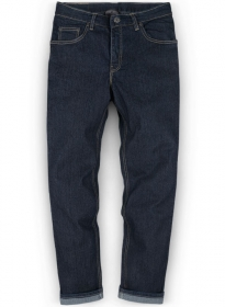 Party Stunner Stretch Jeans - Darker Blue
