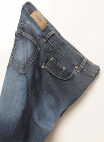Adam Eve Hugger Stretch Jeans - Denim-X Scrapped