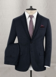 Pinhead Wool Blue Suit