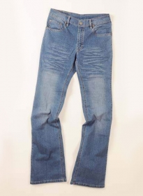 Party Stunner Stretch Jeans - Light Blue - Claw Wash