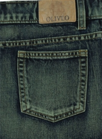Mud Blue Denim Jeans - Vintage Wash