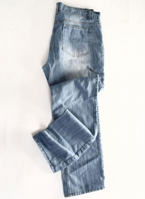 True Blue Jeans -Light Blue Scrape Washed
