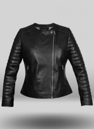 Leather Biker Jacket # 540