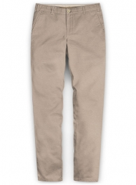 Khaki Chinos With Fit Guarantee
