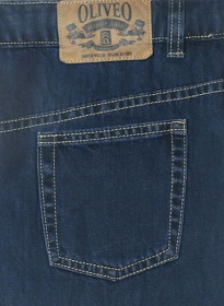 Blue Engine Jeans - Denim X
