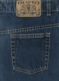Blue Engine Jeans - Blast Wash