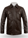 Leather Bomber Jacket - #9