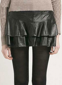 Wader Leather Skirt - # 461