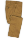 Summer Weight Dark Khaki Chino Pants