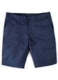 Safari Royal Blue Cotton Linen Shorts
