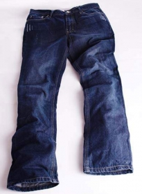 Scrape Hard Wash Denim Jeans - 12oz