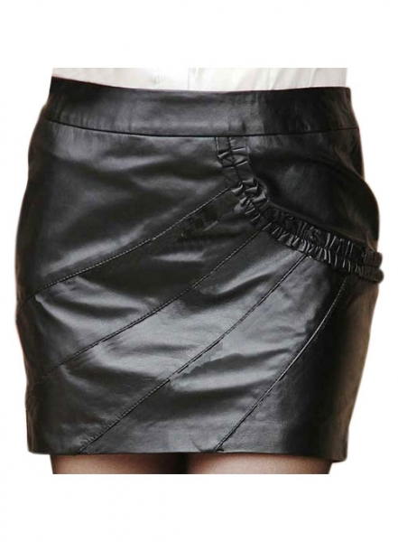 Rhyme Leather Skirt - # 162